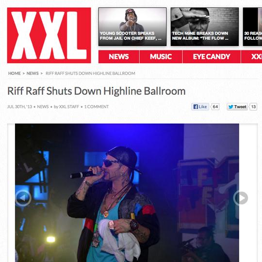 RiFF XXL