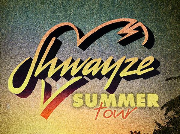 Shwayze Summer Tour