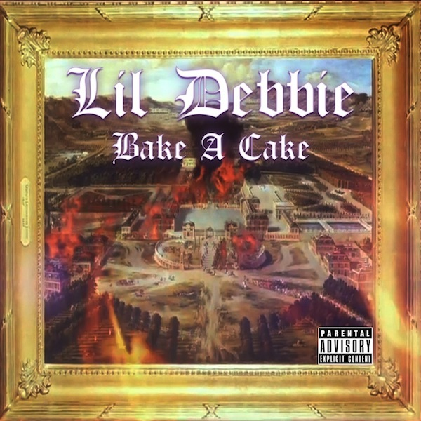 Bake A Cake Cover White Letters