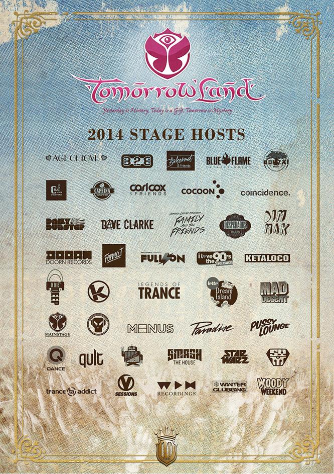 Tomorrowland 2014 WEBSITE