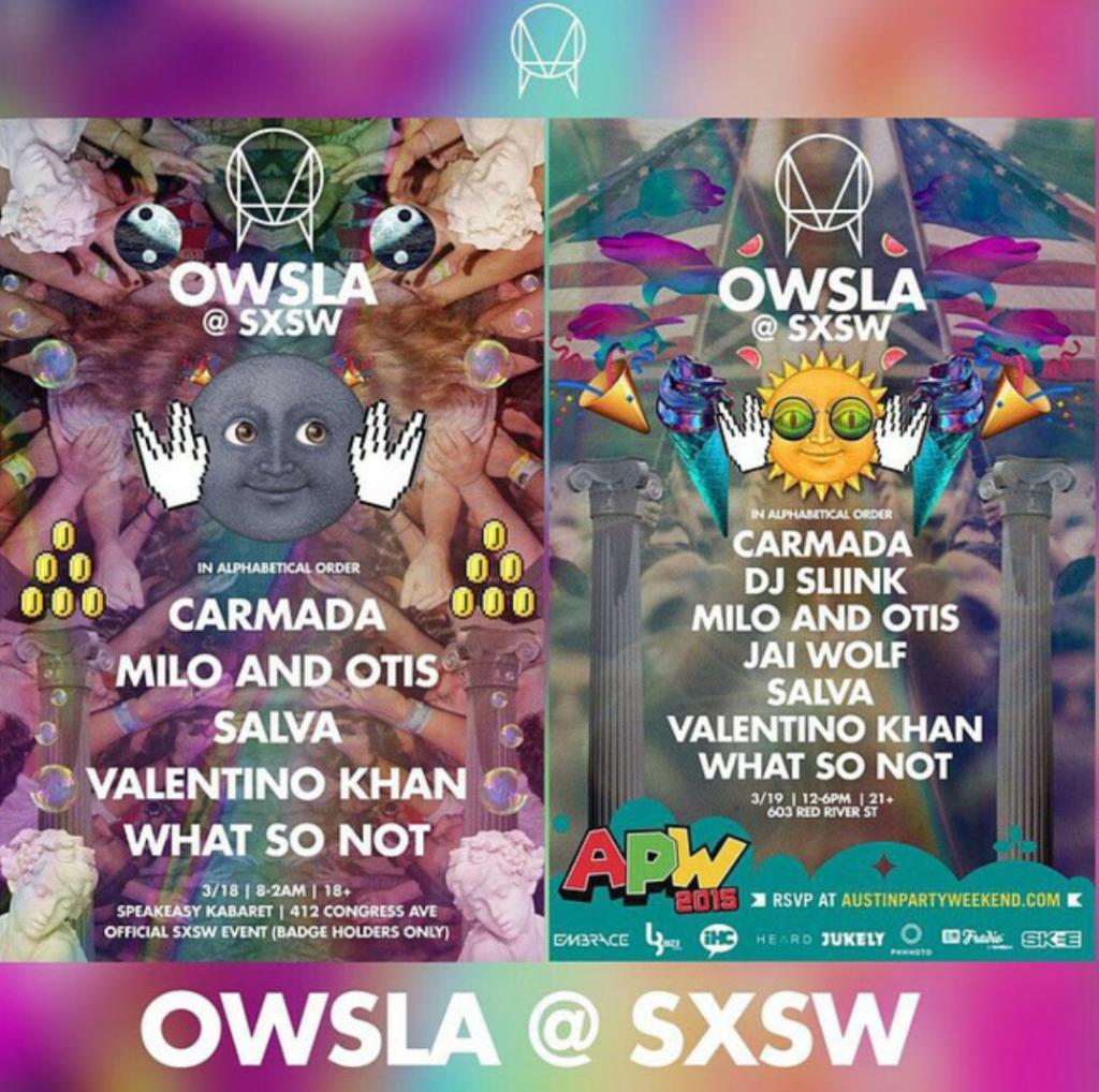 owsla sxsw 2015