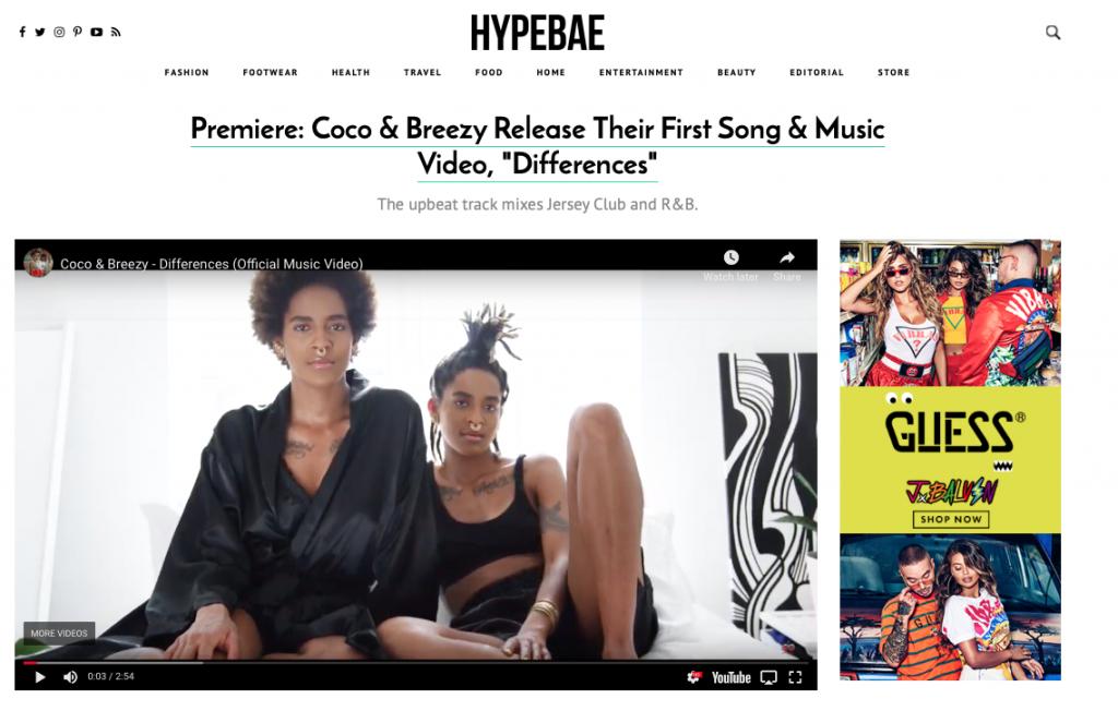Coco & Breezy - Differences - Hypebae Premier