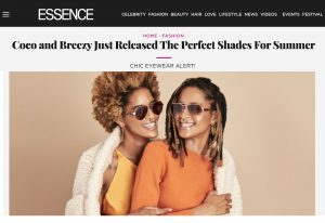 Coco&breezy in Essence (The Helm Collab)
