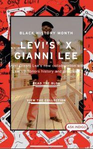 Gianni Lee x Levis